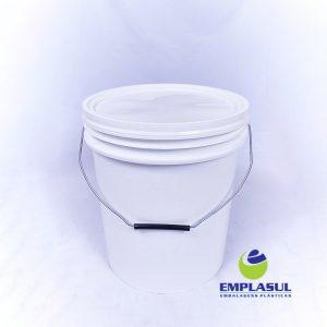 Balde 20 Litros Branco Higienizado