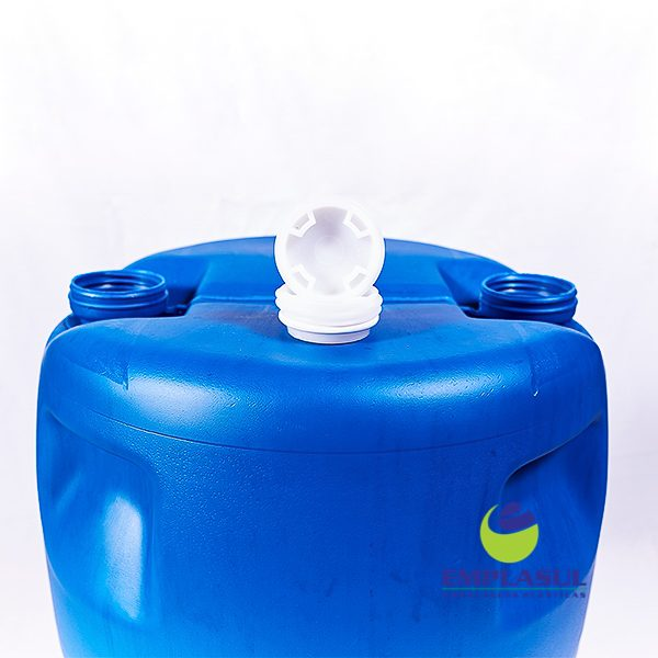 Bombona 100 Litros Azul Higienizada de plástico da marca Emplasul