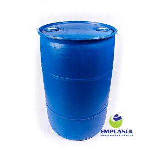 Bombona 200 Litros Higienizada Azul de plástico da marca Emplasul