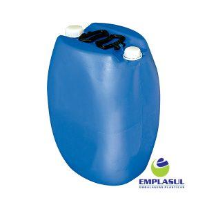 Bombona 50 Litros Higienizada de plástico Azul da marca Emplasul