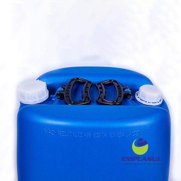 Bombona 60 Litros Azul de plástico da marca Emplasul