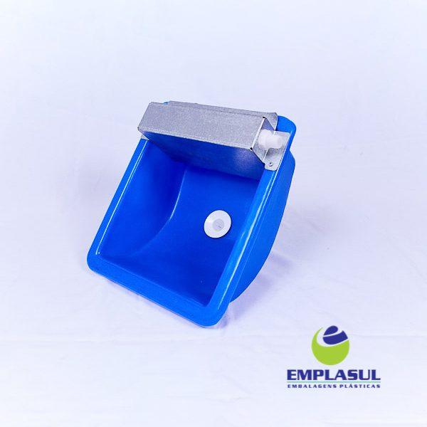 Bebedouro 5 Litros de plástico azul da marca Emplasul