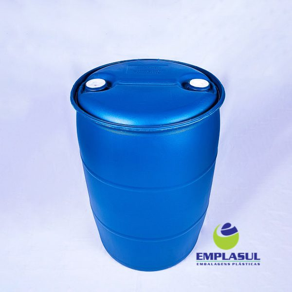 Bombona 200 Litros Azul da marca Emplasul