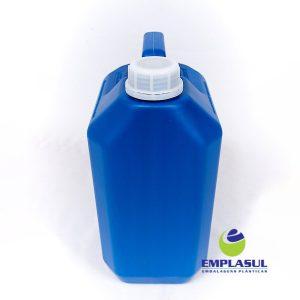 Bombona 5 Litros Azul de plástico da marca Emplasul